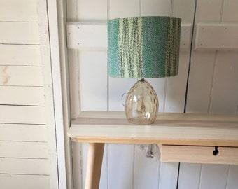 Handwoven lampshade