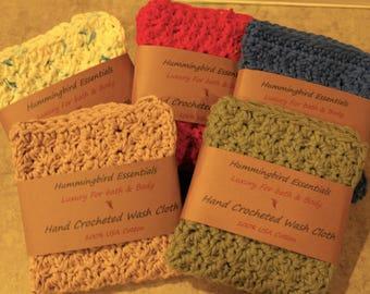 Hand Crocheted Wash Cloth