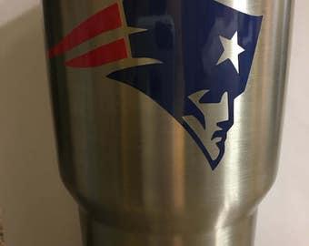 New England Patriots Vinyl Decal