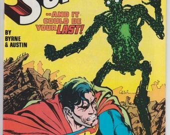 Superman #1 1st app Metallo & Origin 1987 DC Comics John Byrne Art Terry Austin Kryptonite Lois Lane Man of Steel Comic Book