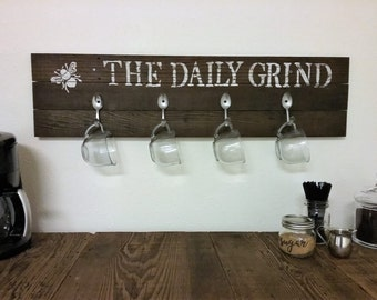 The Daily Grind - Coffee Mug Holder