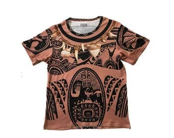 Men's Maui Moana Inspired Disneybound Shirt