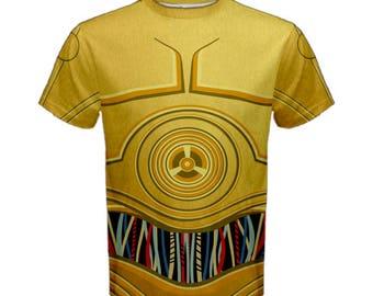 Men's C3PO Star Wars Inspired Shirt