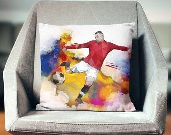 Soccer Decor   Soccer Coach Gift   Soccer Bedding   Soccer Pillow   Soccer Bedroom   Soccer Decorations   Soccer Gifts