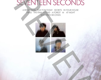 Tshirt - The Cure: Seventeen Seconds (1980)