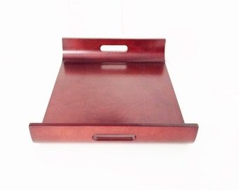 Wood Tray, Large wooden tray, Wood tray with handles