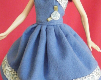 Barbie Dress: barbie doll clothes, barbie clothes, barbie doll dress, fashion doll dress, barbie princess, princess dress, doll clothes