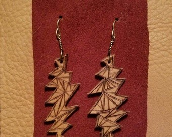 Grateful Dead 13-Point Lightning Bolt Earrings