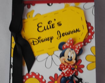 Personalized Mini Altered Composition Disney Journal