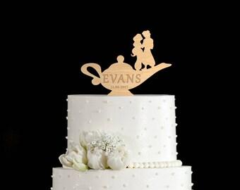 Jasmine aladdin cake topper,aladdin wedding cake topper,Jasmine aladdin cake,Aladdin wedding topper,Aladdin oil lamp cake topper,5652017