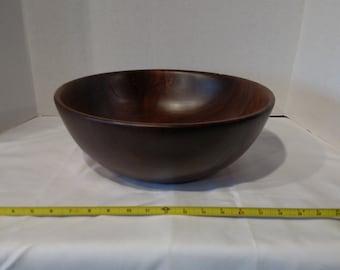 1604-Walnut Crotch Bowl