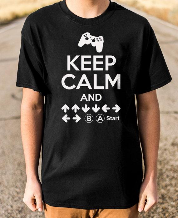 Keep Calm Combo 100% Soft Cotton Gamer Shirt