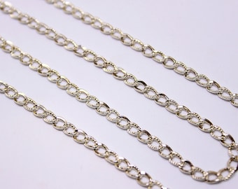 Sterling Silver 925 Link Chain CSS-21