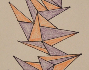 Hand Drawn Bookmark #4
