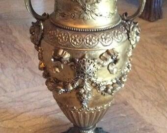 Golden Bronze Vase XIX éme siècle