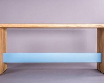orcaorange   Wooden bench BE. 14
