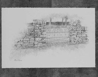 Wrought Iron Gate Etsy