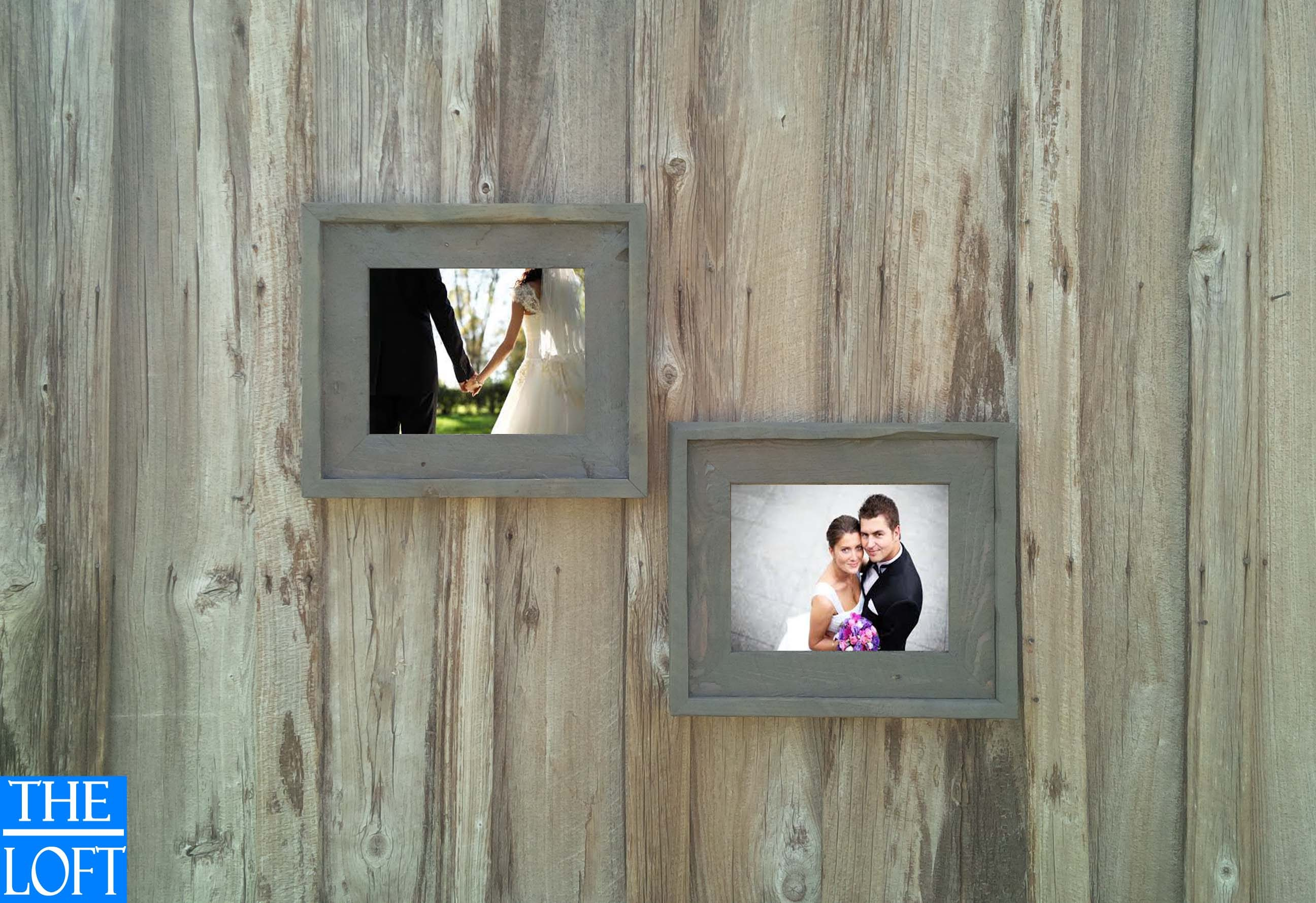Gallery wall all finishes includes 2 11x14 frames the loft gallery wall all finishes includes 2 11x14 frames the loft signature quality handmade rustic barn wood frame jeuxipadfo Images