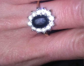 Sapphire diamond gold cpuster