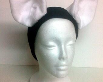 Cosplay Ears Earwarmer  - Fleece - Custom Colors