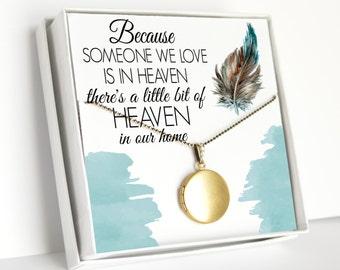 Memorial Jewelry, Women's Jewelry, Locket Necklace, Memorial Necklace, Remembrance Jewelry, Gift For Grandparents, Mother's Day Gift, Mom