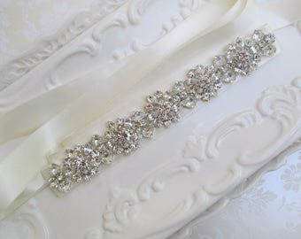 wedding belt, Wedding sash, sash, Crystal Bridal belt, crystal sash, Wedding dress sash, wedding dress belt, rhinestone belt, bridal belt