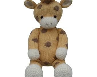 Giraffe - Knit a Teddy