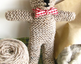 Knit Your Own Teddy Kit