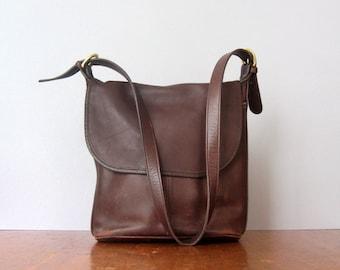 Vintage Coach Leather Bucket / Hobo Bag / Purse / Handbag G7H-4115