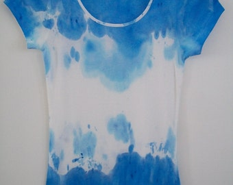 Tie Dye T-shirt, Grunge Womens Tshirt, Womens Tees, Grunge Clothing