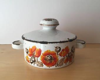 Vintage Midwinter Pottery-  Stonehenge- Autumn Design- Vegetable Tureen- 1970s