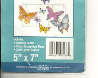 Butterflies Cross Stitch Kit