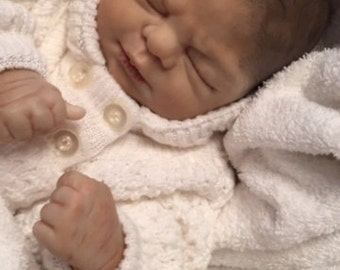 Reborn Custom Baby Allow 3-4 weeks for Completion made with Precious Gift Kit