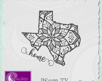 Texas Mandala Svg, Texas State SVG, Texas SVG, Texas State Pride, Texas SVG Cut File, Svg Files, Silhouette Cut File, Cricut Cut File