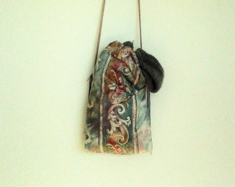 boho bag / cross body bag / hippie bag / market bag / upholstery bag / color full bag / over shoulder bag / strong bag
