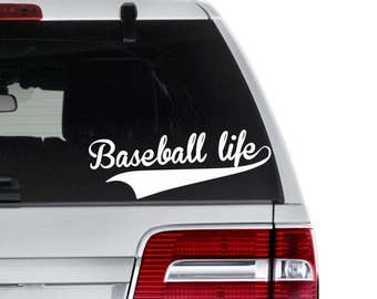 Baseball Decal, Softball Decal, Softball Life Decal, Baseball Life Decal, Baseball Lover Gift, Softball Mom Gift, Sports Tumbler Decal
