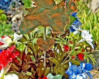Cocker Spaniel Angel Pet Memorial Garden Stake/ Metal Garden Art / Yard Art / Copper Art / Spaniel Art / Dog Sculpture / Pet Silhouette