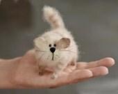 Gatto gatto peluche a mano animale farcito amante regalo cute kawaii gatti gattino home decor regalo gattino gatto bambola in miniatura gatto regalo di compleanno per lei