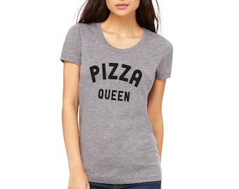 Pizza queen, Tshirt, Tumblr shirt, funny shirt clothing size S M L XL XXL
