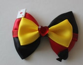 Queen of Hearts Inspired Bow