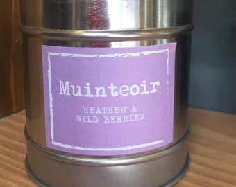 Heather and Wild Berries Candle Tin