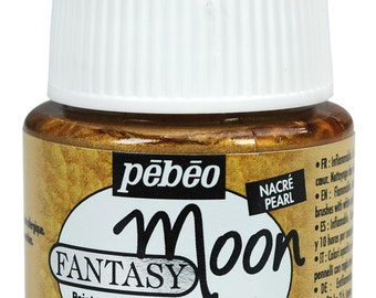 Pebeo Fantasy Moon All Surface Effect Paint 45ml Pots