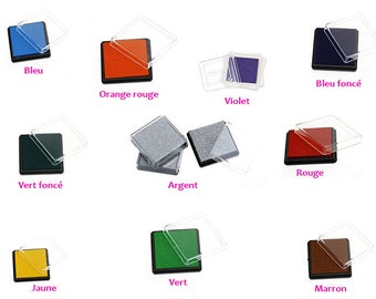 Inker square buffer 10 color choices