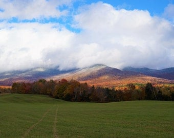 Landscape Photography - First Snow, Mt. Mansfield, VT