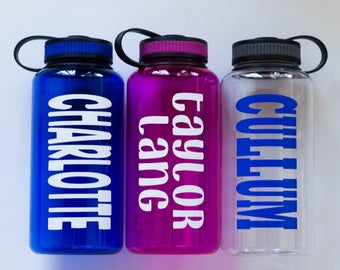 Wide Mouth Personalized Water Bottles