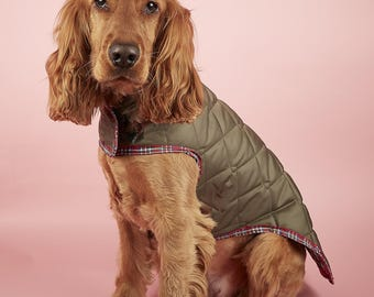 Medium size waterproof and quilted fur baby coat