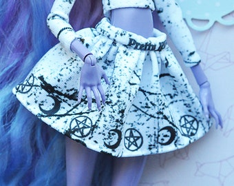 Monster doll clothes Handmade skirt splits witchcraft for MH\EAH