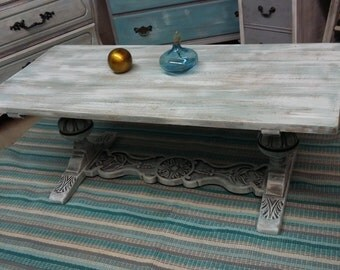 SOLD Cottage Chic Coffee Table