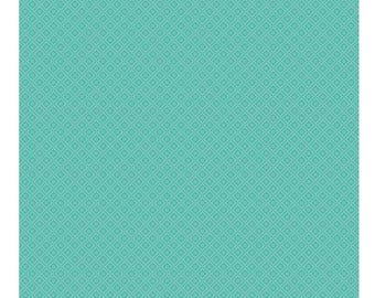 SALE!! 1 Yard Hello Gorgeous by My Minds Eye For Riley Blake Designs - 5695 Diamond Mint