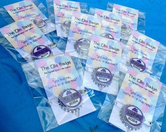 Option 3: 15 Ellie Badge Discount Bundle - 15 Pack of Grape Soda Pins Inspired by Disney-Pixar's Up